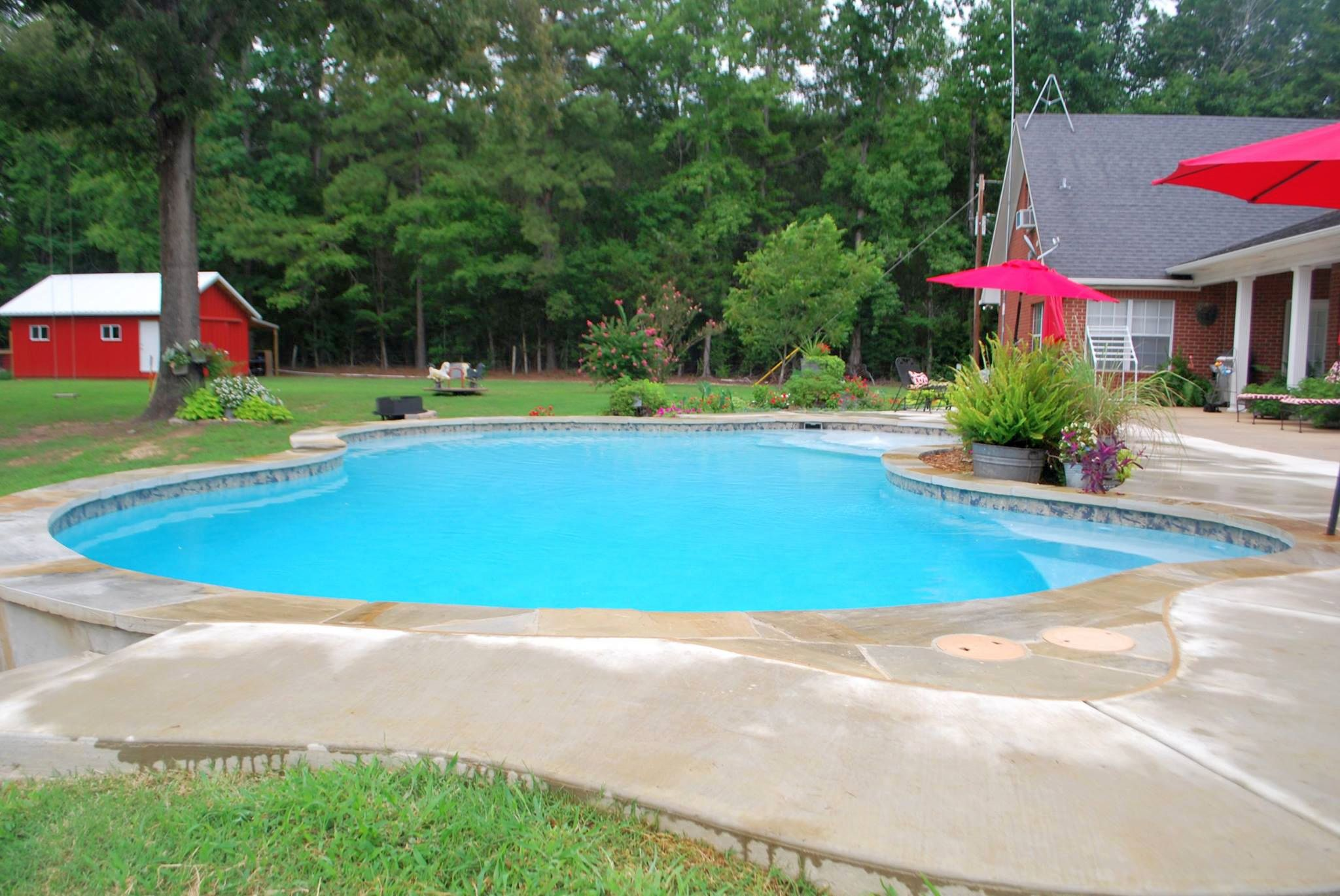 Custom pool builder tyler texas gunite pool construction - Above ground swimming pools tyler texas ...