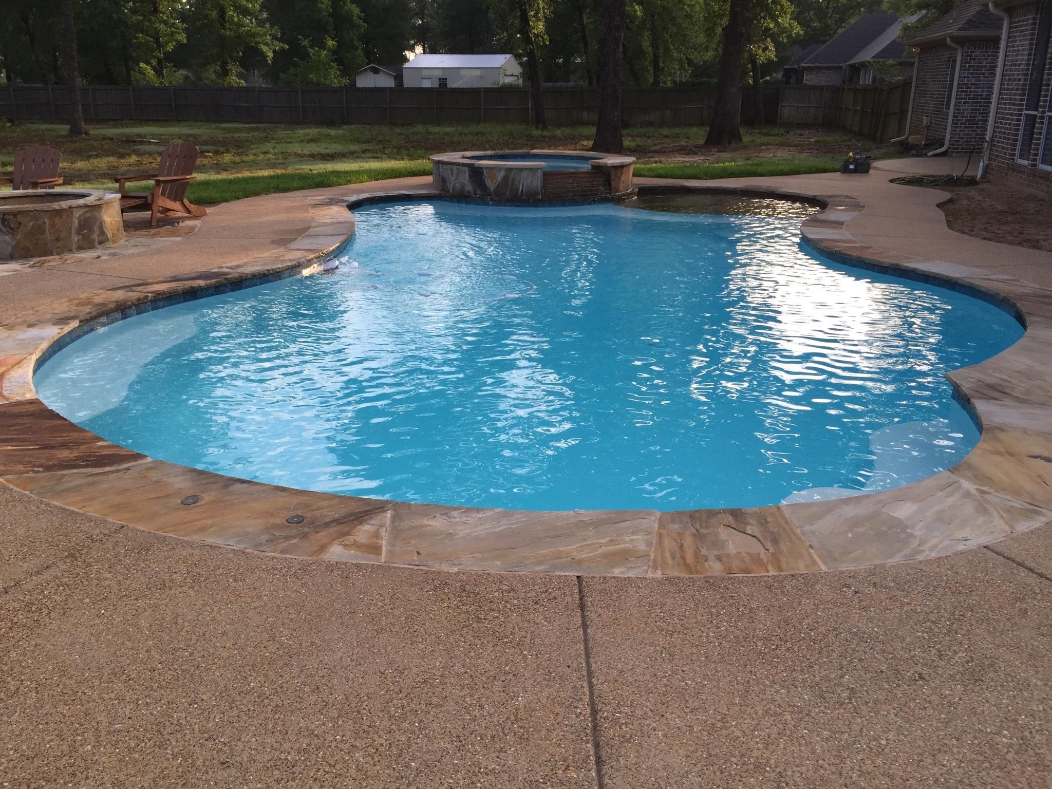 Inground Pools Custom Pool Builder Tyler Texas Gunite