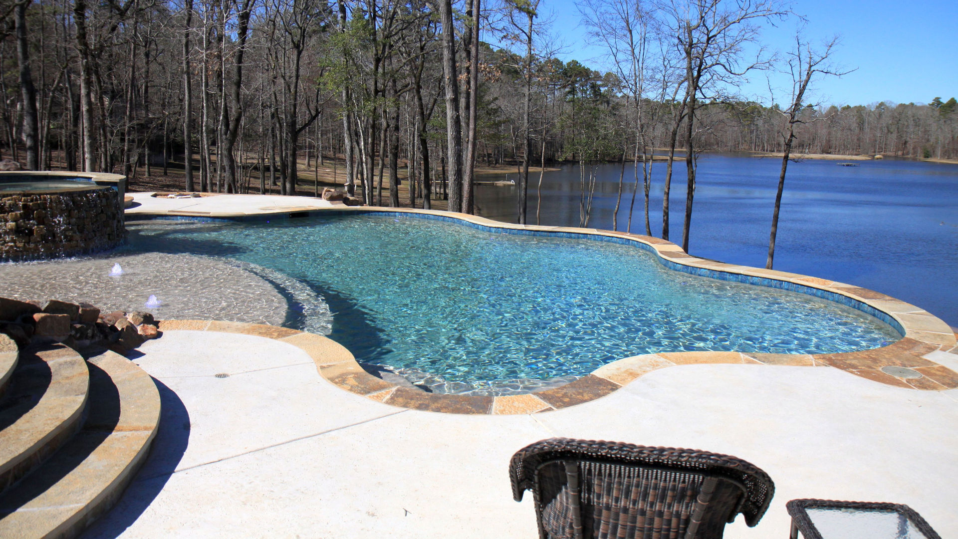 Custom Pool Builder Tyler Texas Gunite Construction Above Ground Outdoor Living Renovation Service And Repair